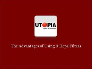 Hospital Hepa Filter Supplier