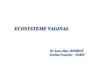 ECOSYSTEME VAGINAL