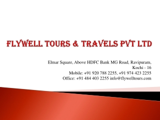 Top Kerala Tour Operator | Inbound & Outbound Tour Packages | Visa Services