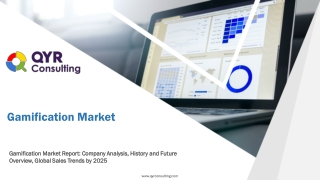 Gamification Market: Company Analysis, History and Future Overview