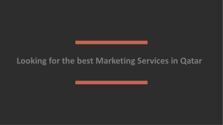 Marketing Agency Qatar