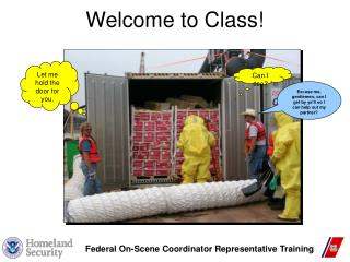 Federal On-Scene Coordinator Representative Training
