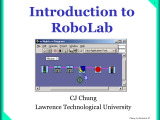 Introduction to RoboLab