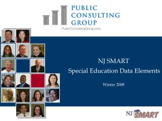 NJ SMART  Special Education Data Elements Winter 2008