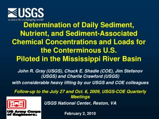 Determination of Daily Sediment
