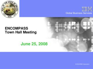 ENCOMPASS Town Hall Meeting