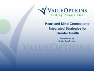 Heart and Mind Connections: Integrated Strategies for Greater Health