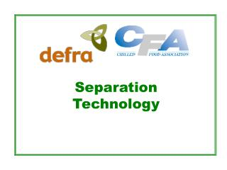 Separation Technology