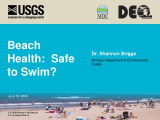 Beach Health:  Safe to Swim?