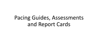 Grades 1  2  Standards Based Report Card