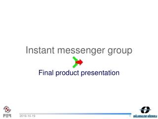 Instant messenger group