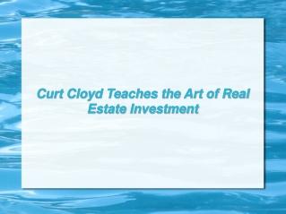 About Curt Cloyd