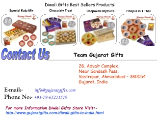 Sweeten your Relationship with Diwali Gifts