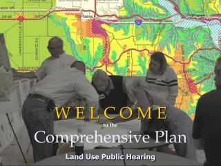 W E L C O M E  Comprehensive Plan