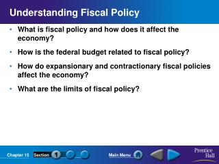 Understanding Fiscal Policy