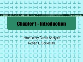 Chapter 1 - Introduction