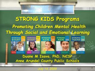 STRONG KIDS Programs Promoting Children Mental Health Through Social and Emotional Learning