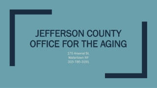 Cancer and  Jefferson County