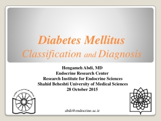 GESTATIONAL DIABETES MELLITUS GDM