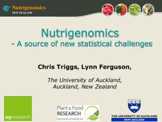 Nutrigenomics NEW ZEALAND