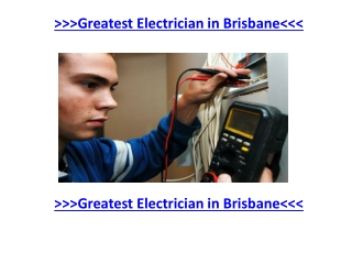 Full Services and Electrical Installation in Logan