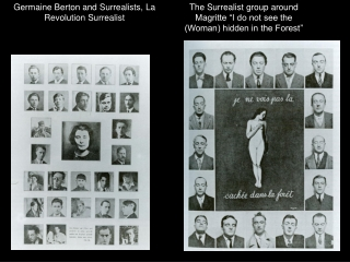 Germaine Berton and Surrealists, La Revolution Surrealist