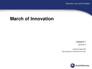 March of Innovation