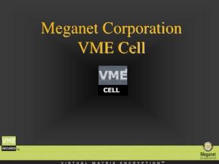 Meganet Corporation VME Cell