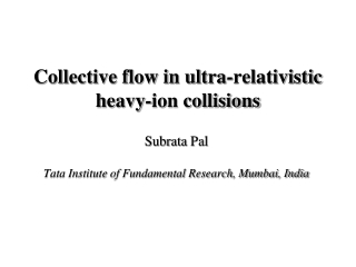 Collective flow in ultra-relativistic heavy-ion collisions