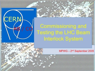 Commissioning Overview