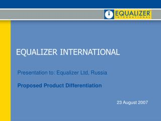 EQUALIZER INTERNATIONAL