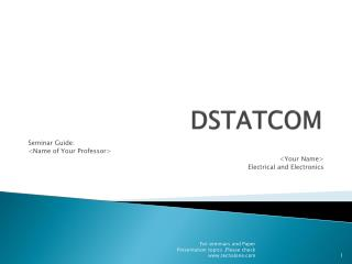 DSTATCOM