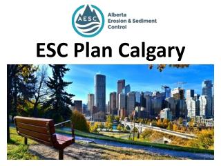 ESC Plan Calgary