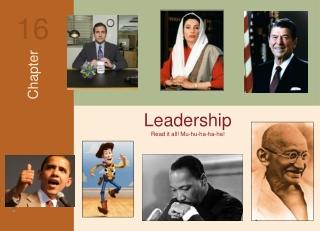 Leadership Read it all! Mu-hu-ha-ha-ha!
