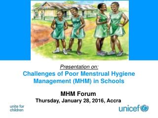 MHM Forum Thursday, January 28, 2016, Accra
