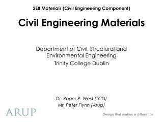 Civil Engineering Materials