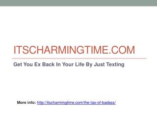 ItsCharmingTime.com Dating Tips And Advice