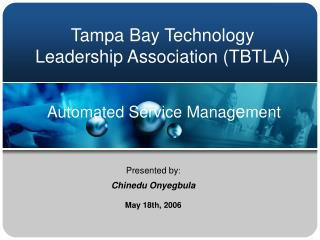 Tampa Bay Technology Leadership Association TBTLA