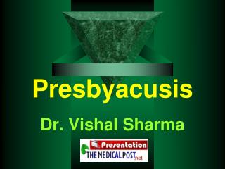 Presbyacusis