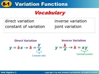 direct variationinverse variation constant of variationjoint variation