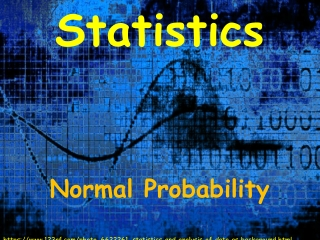 Using Excel to Find Probabilities for the Normal Distribution