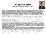 Ali Yaakub Jasmi MBChB, FRCSEdin. MS Gen Surg, UKM
