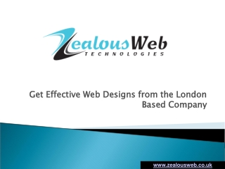 London based Web design Company