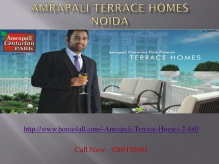 amrapali terrace homes noida