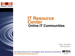 IT Resource Center