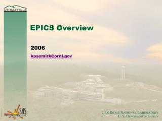 EPICS Overview