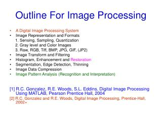 Outline For Image Processing