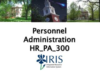 Personnel Administration HR_PA_300