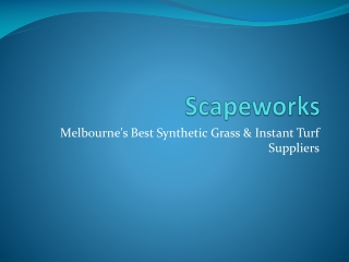 Scapeworks - SyntheticTurf