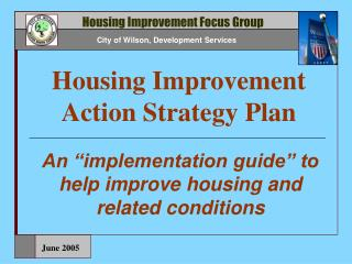 Housing Improvement Action Strategy Plan